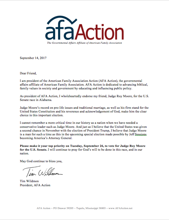 Afaaction afa action endorses judge roy moore the special election is tuesday december 12 please vote and encourage your friends and family to vote too thecheapjerseys Images